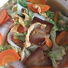 红萝卜烩大白菜