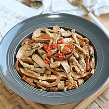 肉丝香干#金龙鱼外婆乡小榨菜籽油 最强家乡菜#