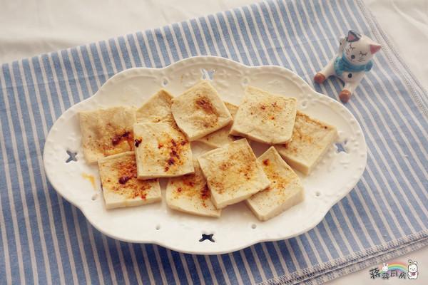 碳烤千叶豆腐的做法