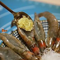 蒜茸粉丝开边虾的做法图解12
