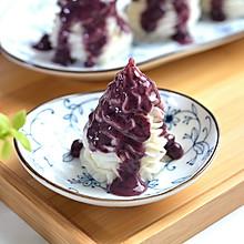 蓝莓山药 #精品菜挑战赛#