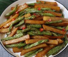 土豆烧豆角的做法