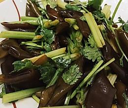 凉拌海茸的做法