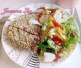 减肥餐 鸡排沙拉套餐的做法