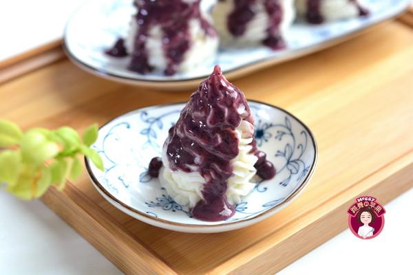 蓝莓山药 #精品菜挑战赛#的做法