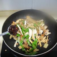 干煸五花肉杏鲍菇的做法图解10