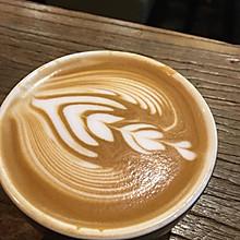 咖啡 拿铁 拉花