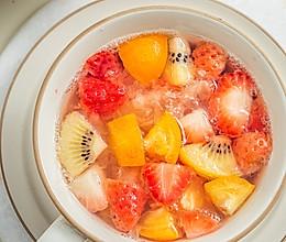 年夜饭压轴清新解腻水果甜汤的做法