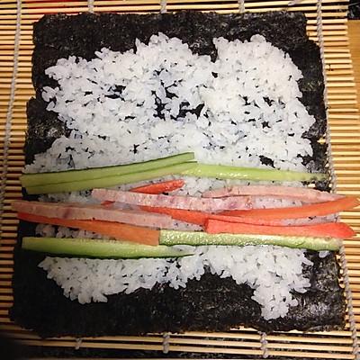 寿司的做法 步骤3