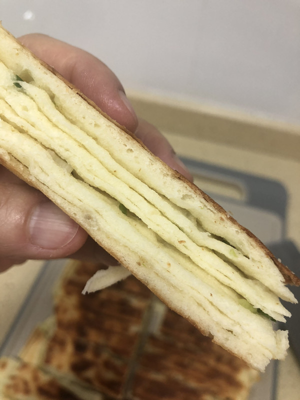孜然䓤香千層餅的做法