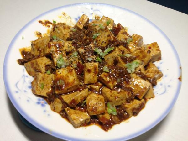 四川麻婆豆腐的做法
