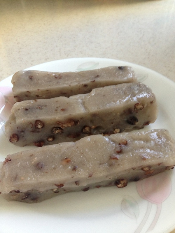 红豆糯米糕的做法