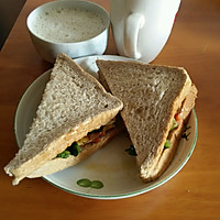 早餐_美味三明治香醇豆浆完美搭配的做法图解4