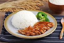 至少两碗米饭打底,越吃越过瘾 ——照烧鸡腿饭的做法