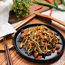 小炒杏鲍菇 纯净素食