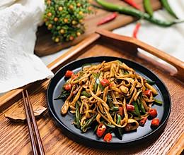 小炒杏鲍菇 纯净素食的做法