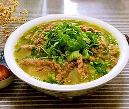 萝卜肥牛汤的做法