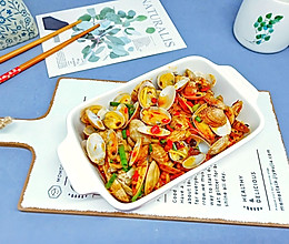 #多力金牌大厨带回家-北京站#烤箱版【金针菇蒜香烤花蛤】的做法