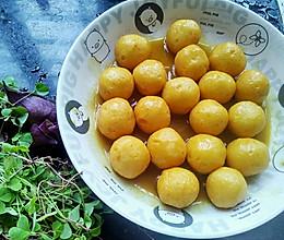 咖喱鱼蛋—零嘴小吃的做法