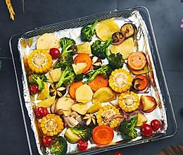低脂烤蔬菜的做法
