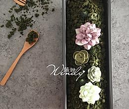 苔藓磅蛋糕---可以吃的盆景随心做的做法