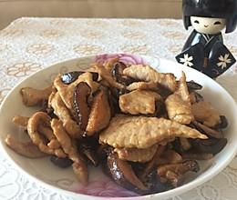 下饭的香菇肉片的做法