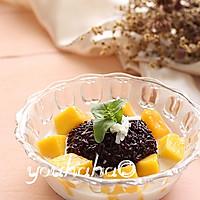 芒果椰浆黑糯米#美的初心电饭煲#的做法图解11