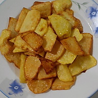 土豆烧海带的做法图解4
