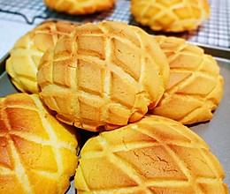 酥皮菠萝面包(懒人面包机揉面版)的做法
