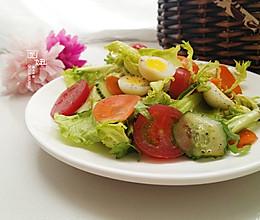 低卡的蔬菜沙拉的做法