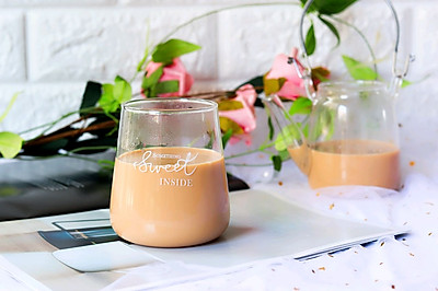 暖心暖胃甜品——姜汁奶茶