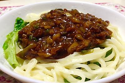 手工杂酱面---乌江榨菜