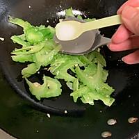 苦瓜炒鸡蛋#花10分钟,做一道菜!#的做法图解7