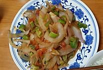 洋葱炒西红柿的做法
