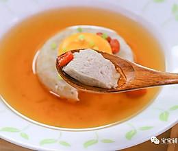 鲜味肉饼汤 宝宝辅食食谱的做法