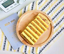 #橄榄中国味 感恩添美味#五彩鸡肉午餐肉的做法