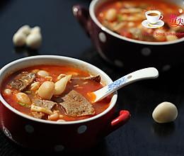猪肝番茄汤的做法