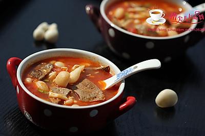 猪肝番茄汤