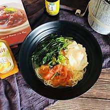 #太太乐鲜鸡汁芝麻香油#番茄鸡蛋面+太太乐鲜鸡汁芝麻香油