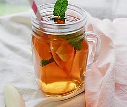 蜜桃冰红茶的做法