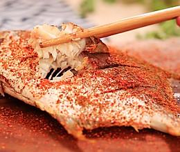 孜然烤鲳鱼—迷迭香的做法
