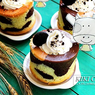 可爱奶牛蛋糕杯