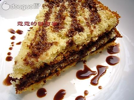 香草巧克力夹心蛋糕