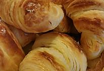 层层起酥的丹麦牛角面包#比暖男更暖的是#的做法