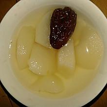 山药雪梨红枣汤