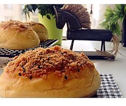 里松外松肉松面包的做法
