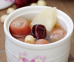 淮山莲子猪尾汤的做法