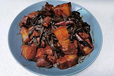 【八月家】红烧肉烧干豆角
