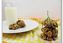 100%全麦燕麦蔓越莓小饼的做法
