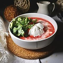 乌克兰浓菜汤 - 罗宋汤本尊